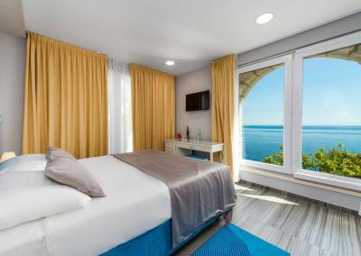 Superior Room with sea view Dubrovnik Villa Orabelle6