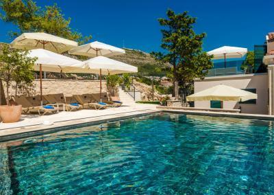 Villa Orabelle Infinity Pool Dubrovnik