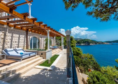 Superior room with sea view & terrace Dubrovnik Villa Orabelle
